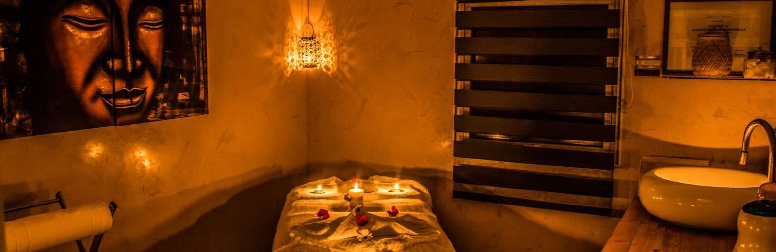 Découvrez dès maintenant l'espace bien-être du camping 3 étoiles Site de Gorge Vent.